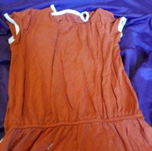 Romper forever 21 size 3 womens orange